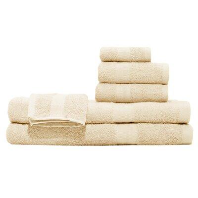 3 Piece Towel Set Color: Butterscotch