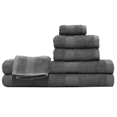 3 Piece Towel Set Color: Slate