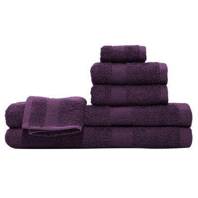 3 Piece Towel Set Color: Purple