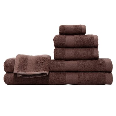 3 Piece Towel Set Color: Chocolate
