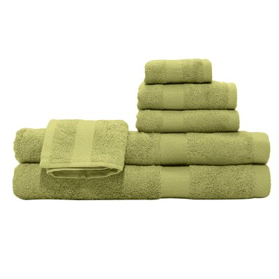 3 Piece Towel Set Color: Kiwi