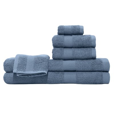 3 Piece Towel Set Color: Midnight Blue