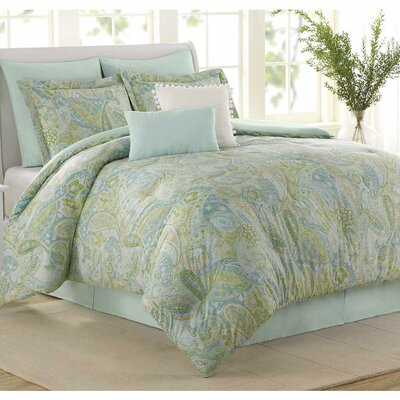Lambrecht 8 Piece Comforter Set Size: King