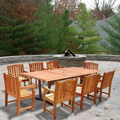 Michell 9 Piece Dining Set