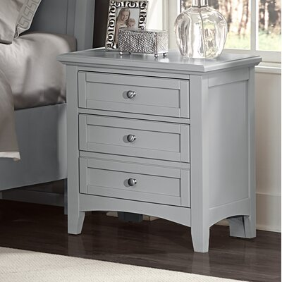 Gastelum 2 Drawer Night Stand Finish: Urban Gray