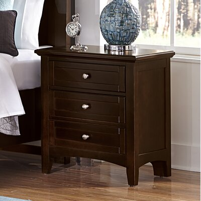 Gastelum 2 Drawer Night Stand Finish: Merlot