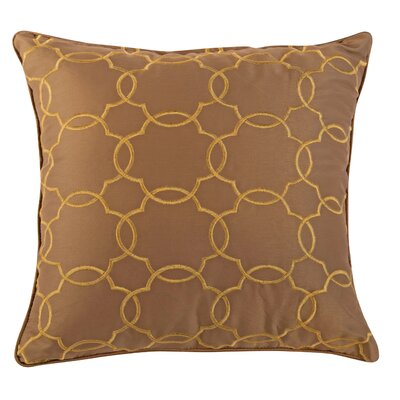 Litherland Accent Throw Pillow Color: Latte