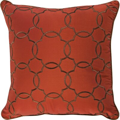 Litherland Accent Throw Pillow Color: Tangine
