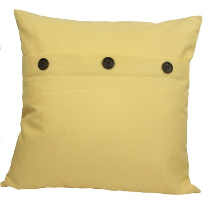 Goodwin Throw Pillow Color: Yellow