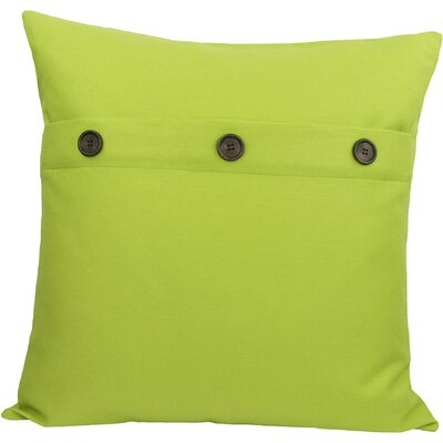 Goodwin Throw Pillow Color: Green Apple