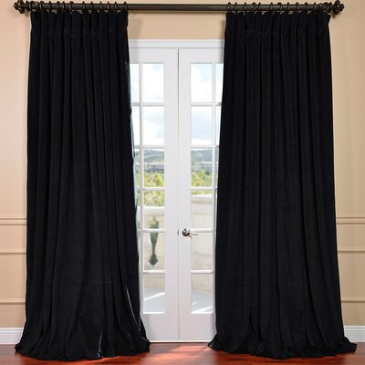 Rhinehart Blackout Thermal Double Wide Single Curtain Panel