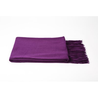 Dickson Throw Color: African Violet
