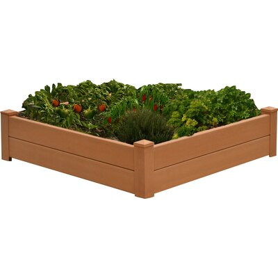 Gustavson 4 ft x 4 ft Composite Raised Garden