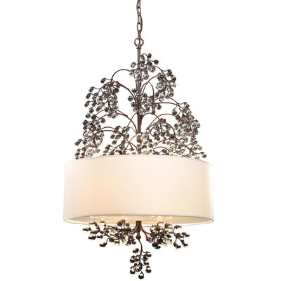 Davidson 4-Light Drum Pendant