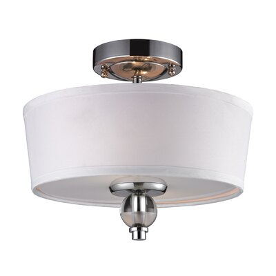 Fauntleroy 2-Light Semi Flush Mount