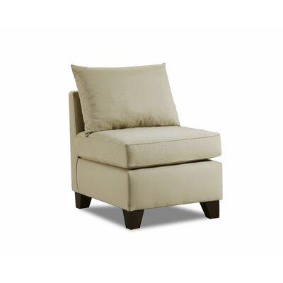 Adelina Slipper Chair Upholstery: Khaki