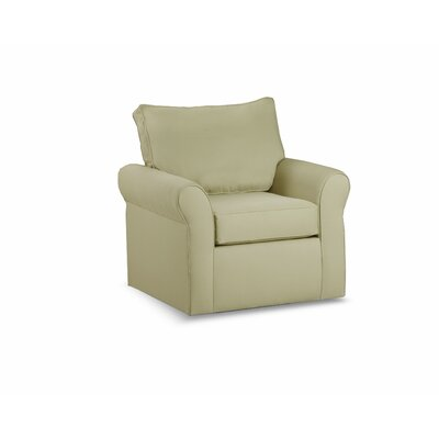 Adelina Swivel Armchair Color: Khaki