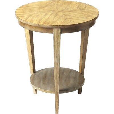Nakety End Table Color: Driftwood