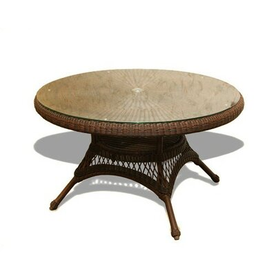 Fleischmann Dining Table Finish: Tortoise, Base Finish: No Cushion Available