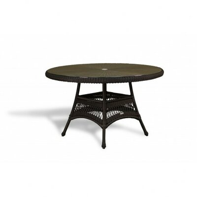 Fleischmann Dining Table Finish: Java, Base Finish: No Cushion Available