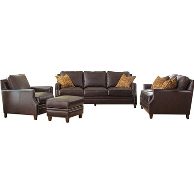 Gravely Leather Loveseat