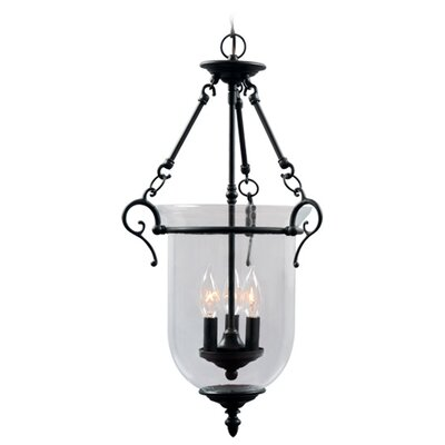 Sackler Foyer Pendant Size: 25 H x 14.5 W x 14.5 D, Finish: Bronze