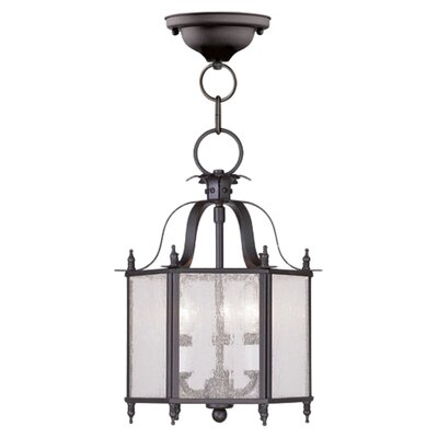 Sackler 3-Light Foyer Pendant Finish: Bronze