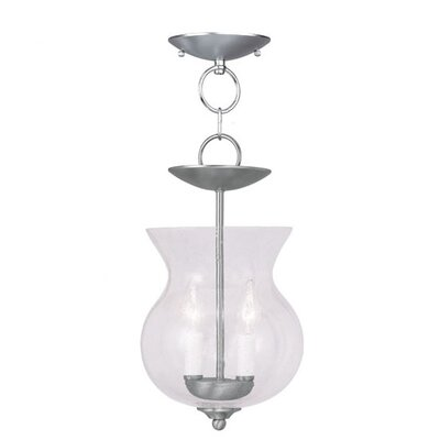 Sackler Foyer Pendant Finish: Brushed Nickel