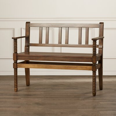 Heisler Wood Entryway Bench