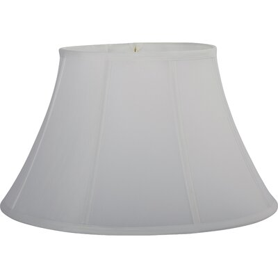 Soft 18 Silk Bell Lamp Shade Color: White