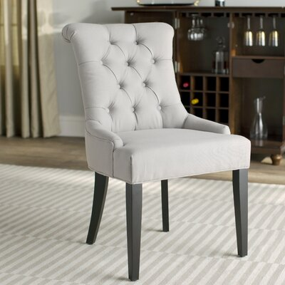 Allensby Side Chair (Set of 2) Upholstery: Light Blue