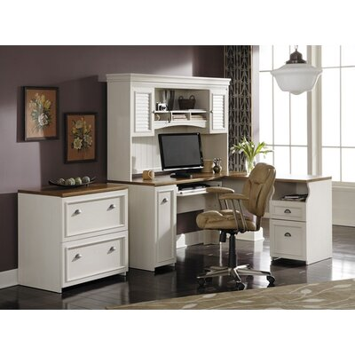 Allentown 3 Piece L-Shape Desk Office Suite