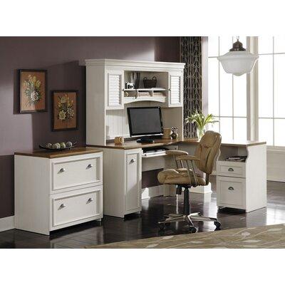 Allentown 3 Piece L-Shape Desk Office Suite