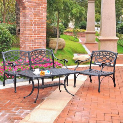Lomax 3 Piece Lounge Seating Group