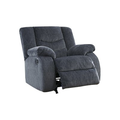 Blackledge Rocker Recliner Type: Manual, Upholstery: Beige