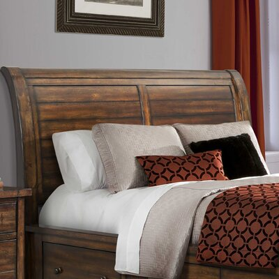 Headrick Creek Sleigh Headboard Size: Queen