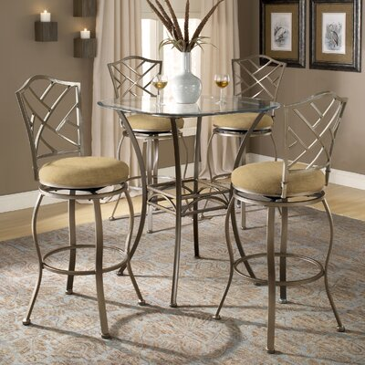 Dallas Bar Height Bistro Table Set