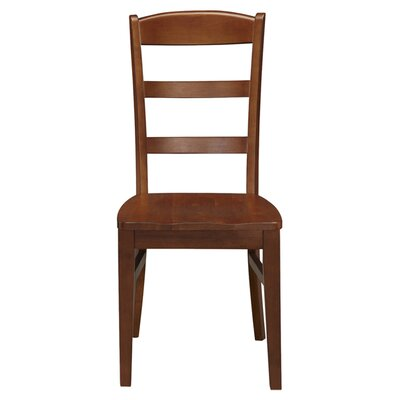 Cargile Ladderback Solid Wood Dining Chair
