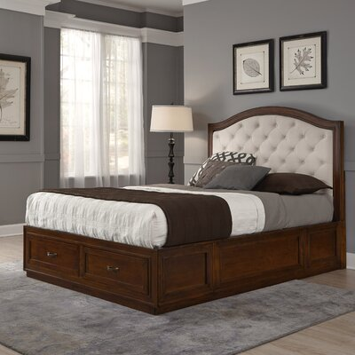 Myra Upholstered Storage Platform Bed Size: King