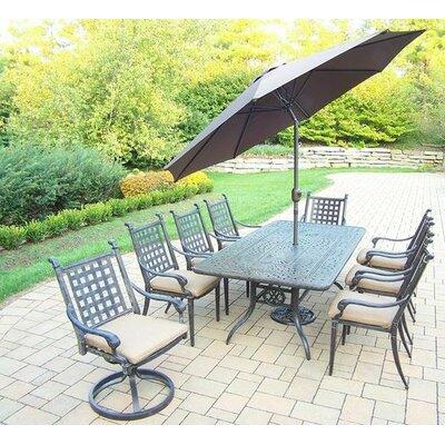 Dining Set Cushions Umbrella 194 Product Image