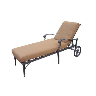 Vandyne Chaise Lounge with Cushions