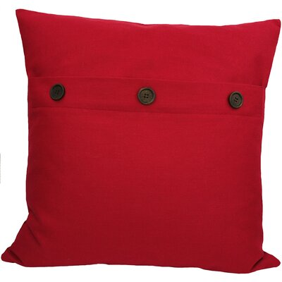 Goodwin Throw Pillow Color: Red