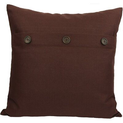 Goodwin Throw Pillow Color: Chocolate