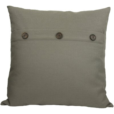 Goodwin Throw Pillow Color: Charcoal