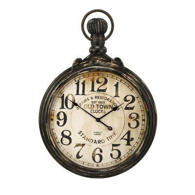 Oversized 27.5 Pocket Watch Wall Clock