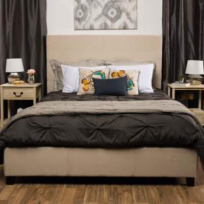 Robinette Upholstered Panel Bed Size: California King