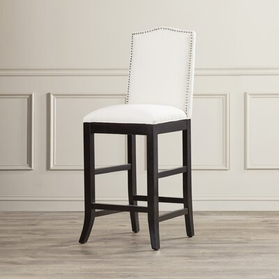 Liston 27 Bar Stool Upholstery: Ivy