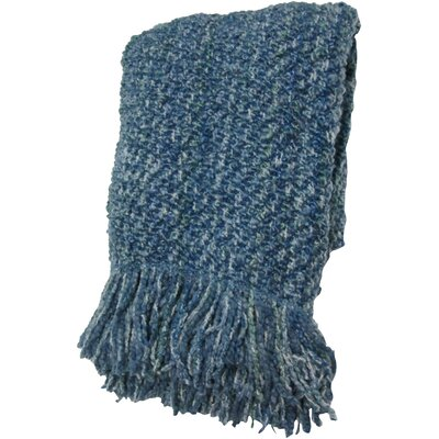 Godbold Decorative Woven Throw Color: Baltic