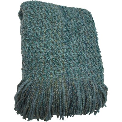 Godbold Decorative Woven Throw Color: Seafoam