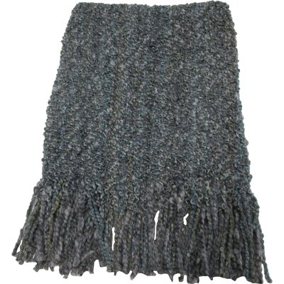 Godbold Decorative Woven Throw Color: Silver